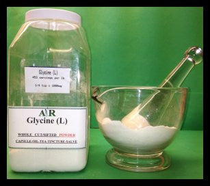 Glycine (L) Powder Bulk By The Ounce