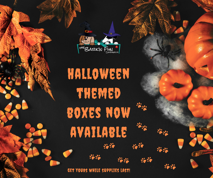 Halloween Themed Boxes are In!
