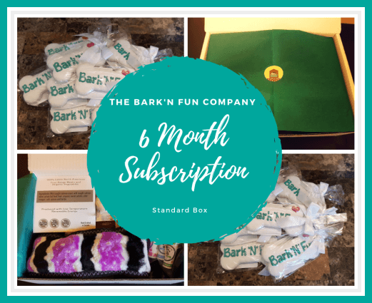 6 Month Subscription Plan, Standard Box