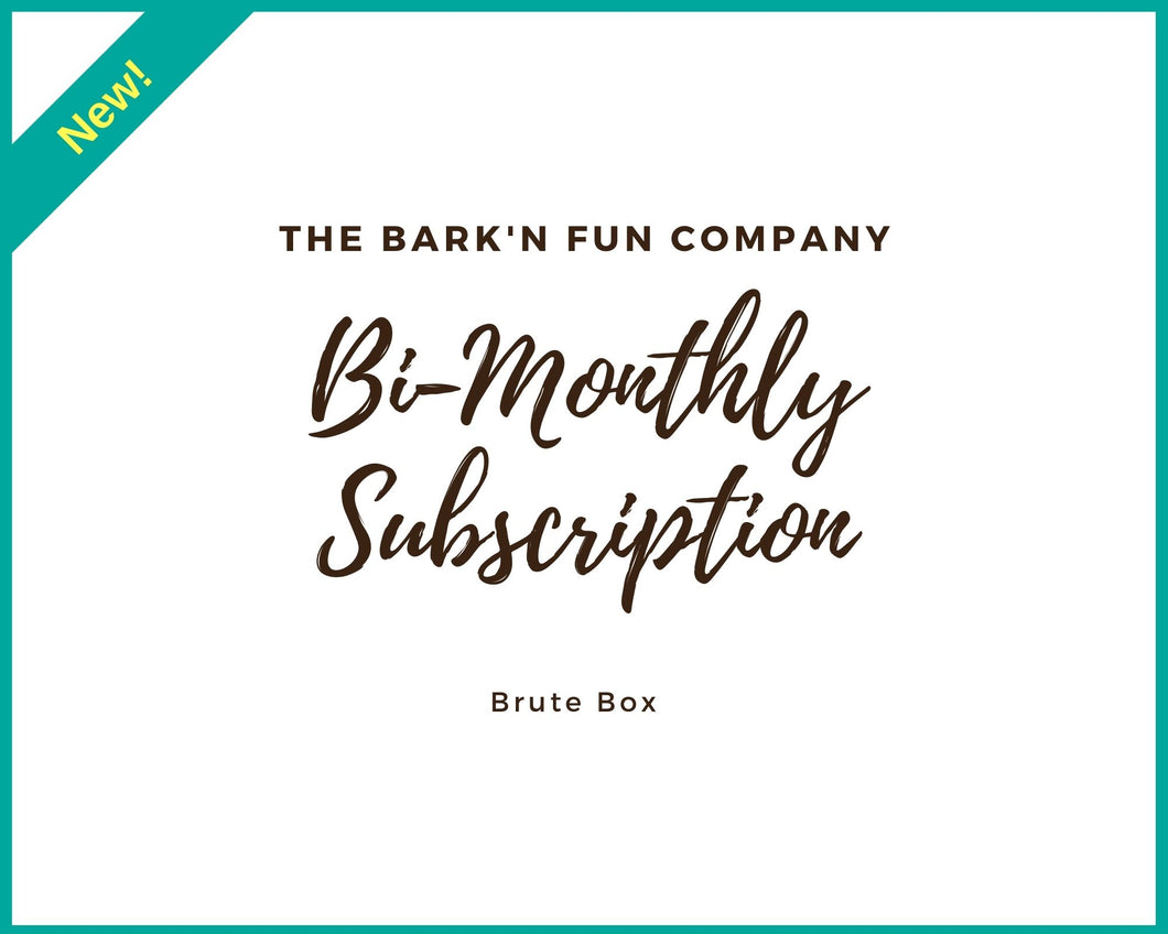 Bi-Monthly Subscription Plan, Brute Box