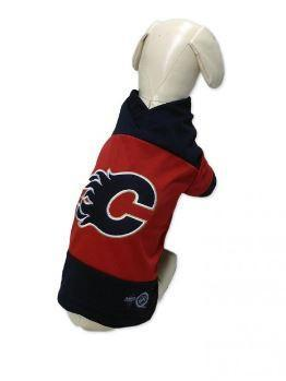 Calgary Flames Team Jersey for Dogs