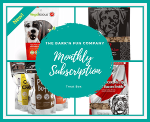 Monthly Subscription Plan, Dog Treats