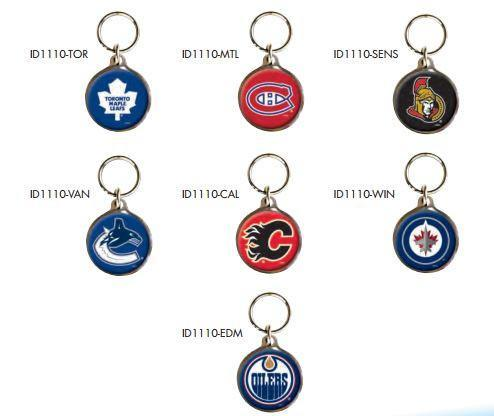 Official NHL Dog Tags - Canadian Teams