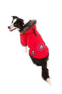 NHL Dog Jacket Toronto Maples Leafs by Togpetwear Official Licensee