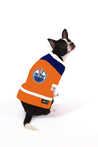 NHL Dog Jersey Edmonton Oilers by Togpetwear Official Licensee