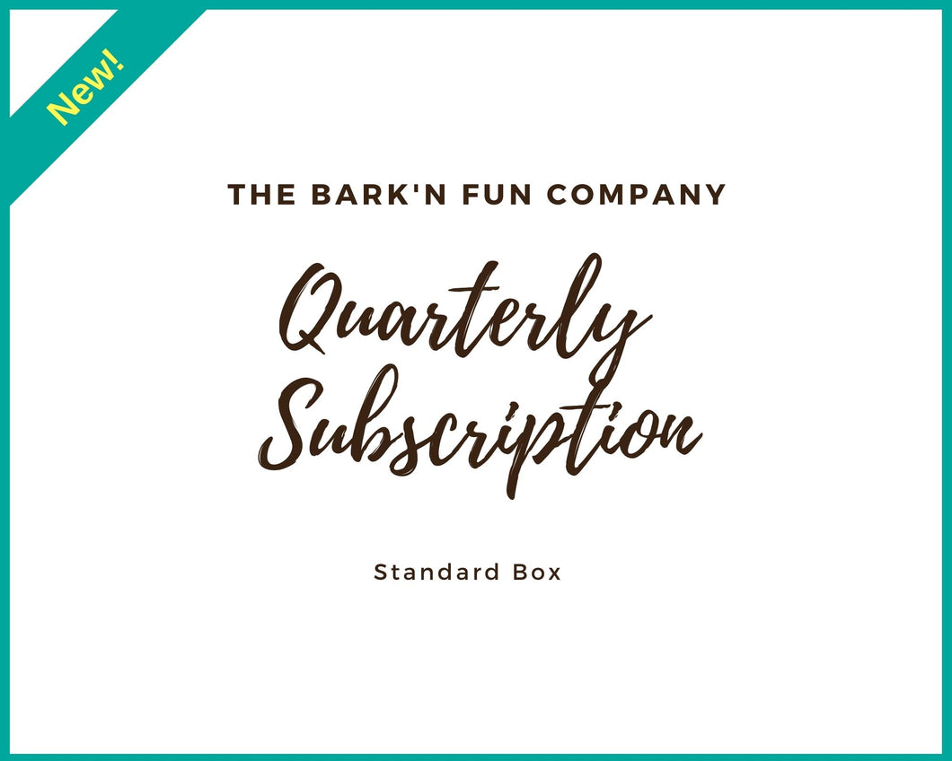 Quarterly Subscription Plan, Standard Box