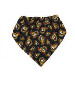 NHL Dog Bandana Ottawa Senators by Togpetwear Official Licensee