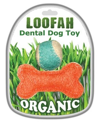 Organic Loofah Dental Dog Toy