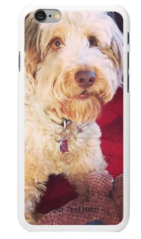 Personalized Phone Cover - Personalized IPhone Cover - Your Dog's Pic Here!