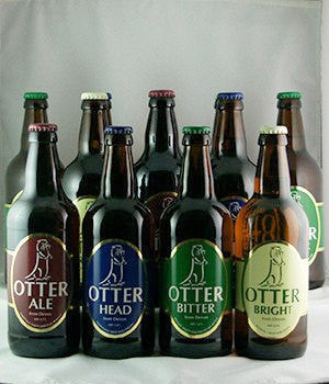Otter Brewery Beers - 12 Pack