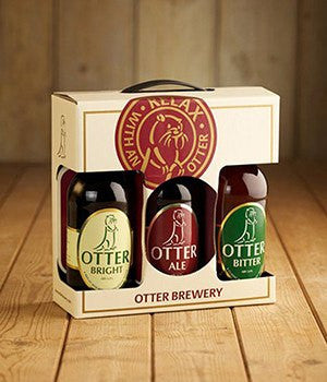 Otter Brewery Beers - 3 Pack