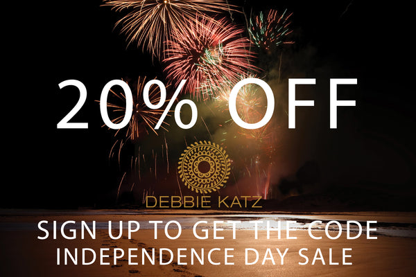Independence - It's a good thing -Take 20% off – Debbie Katz