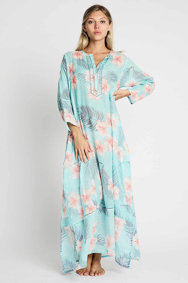Debbie Katz maxi tunic resort dress