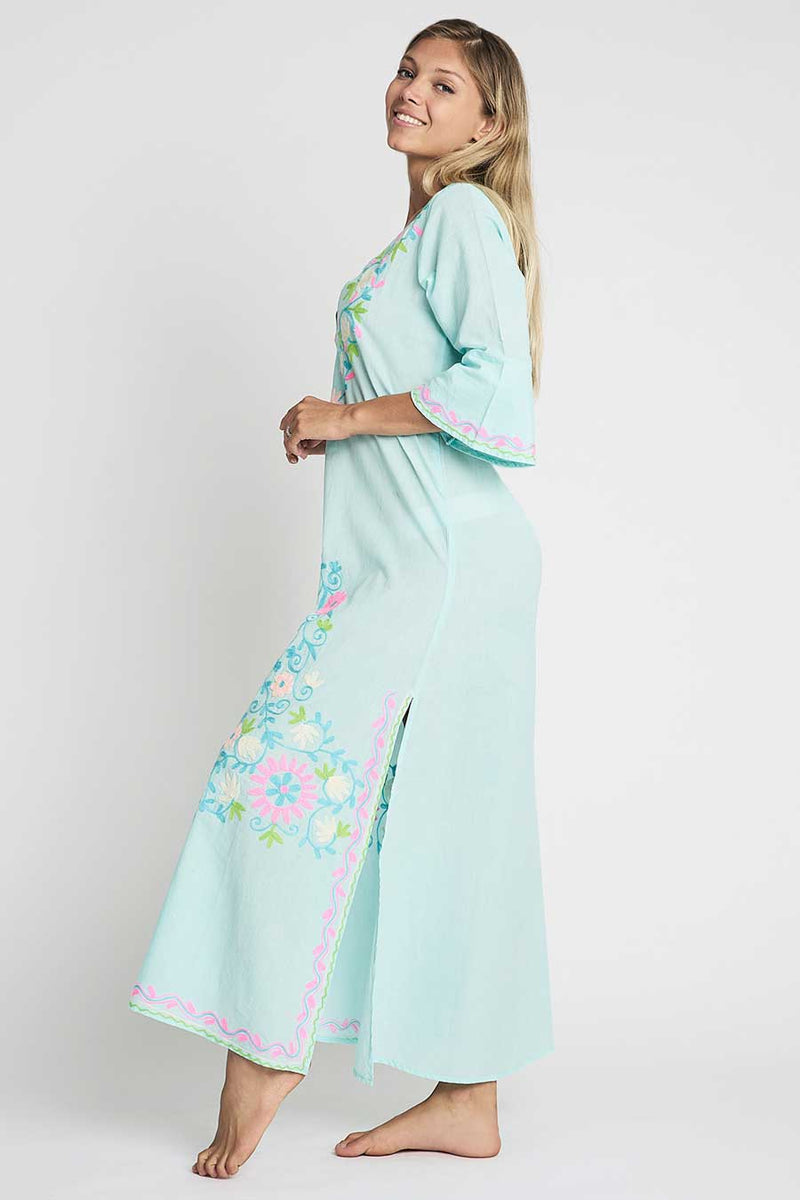 Taliah Maxi Tunic Sea