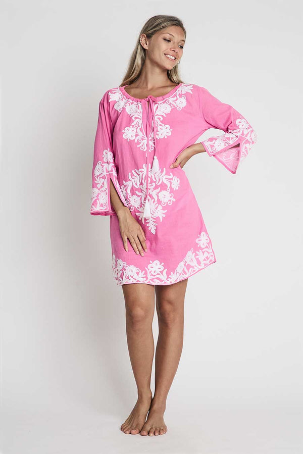 debbie katz cruise wear short valentina tunic