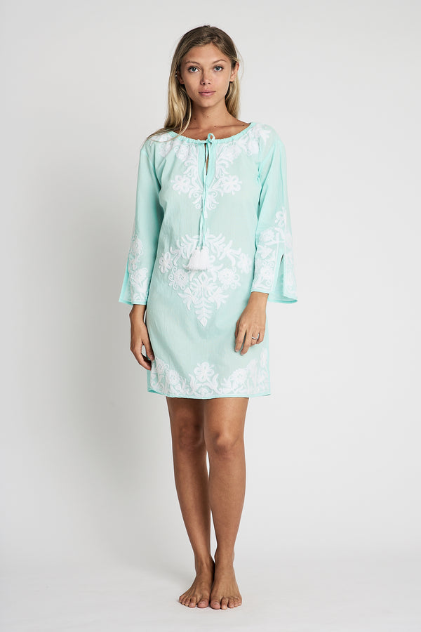 debbie katz resort tunic valentina sea