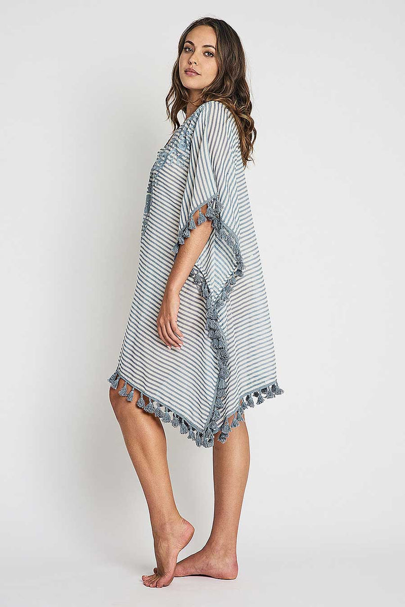 Avery Kaftan denim