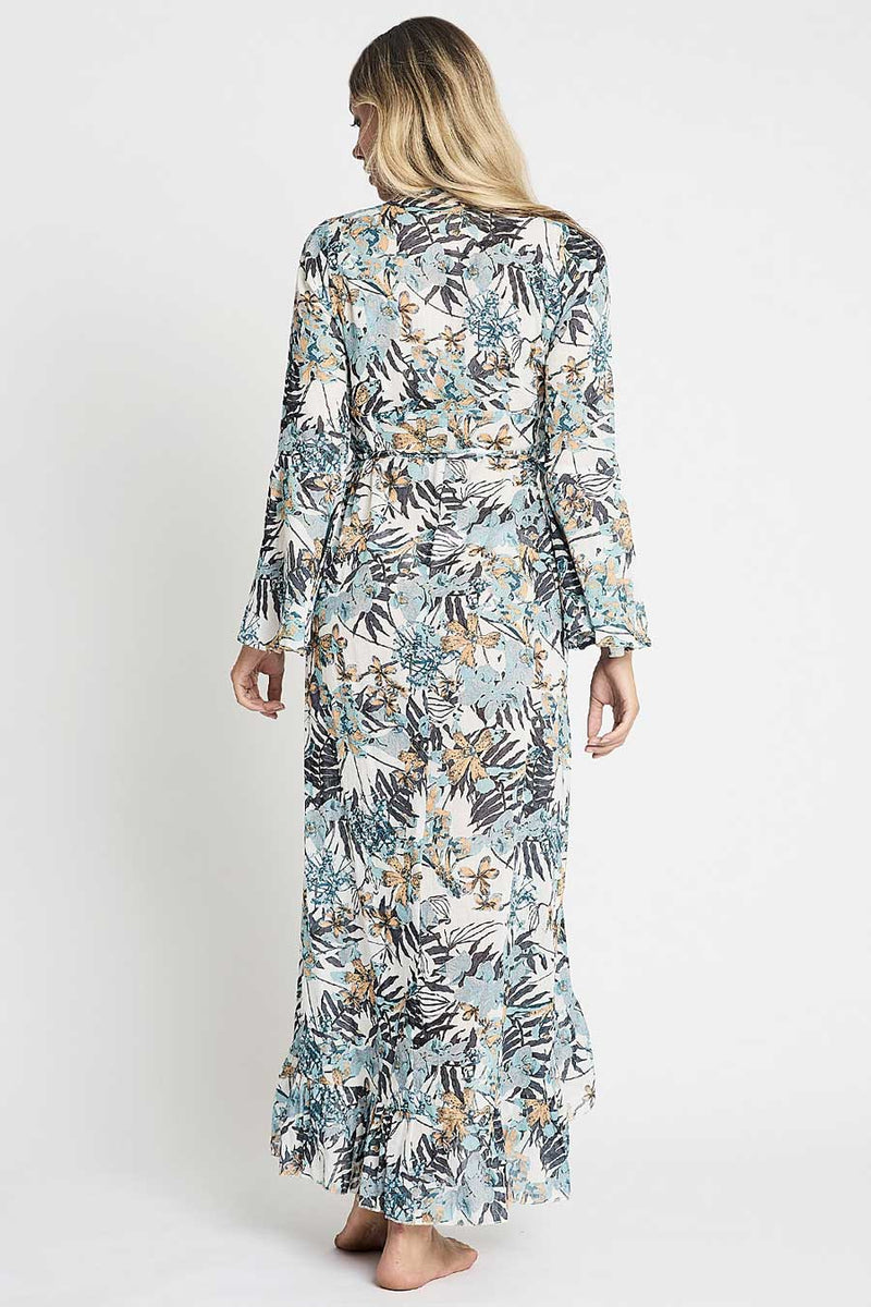 Zara Maxi Wrap Dress