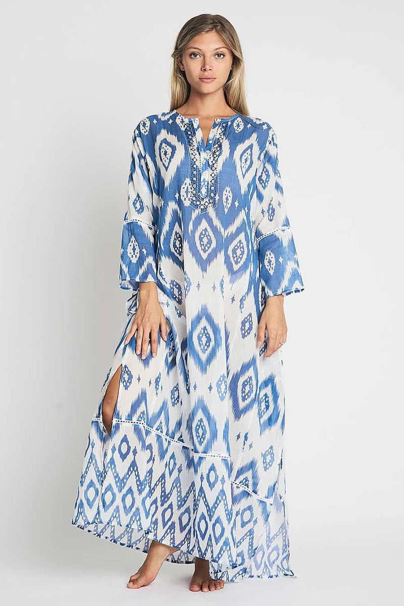 debbie katz halina ikat long beach tunic