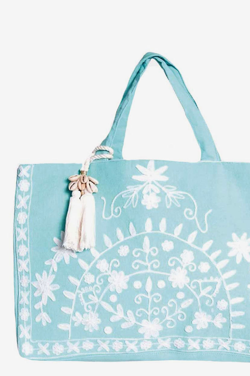 Vida beach bag mint