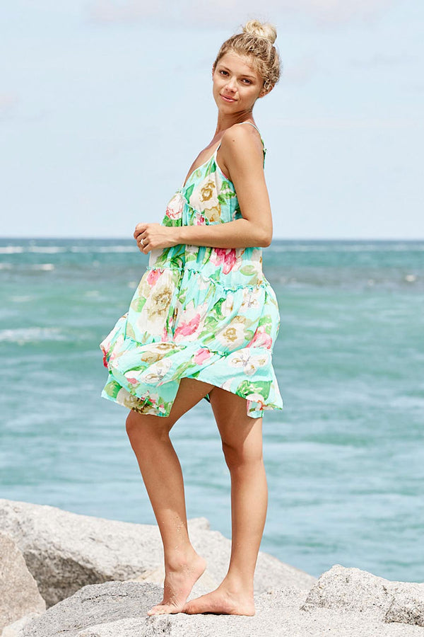 Amelie Strap Dress sea