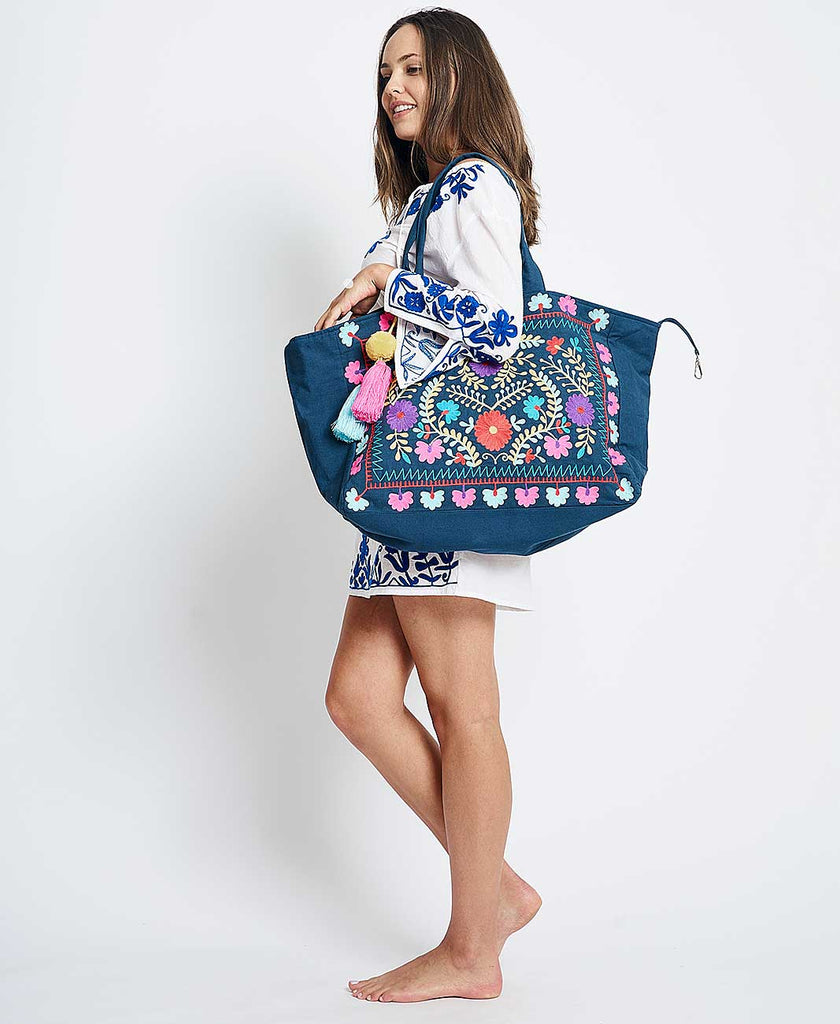 VALENTINA  BAG NAVY