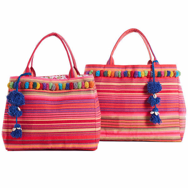 Boho Beach Bag Larai