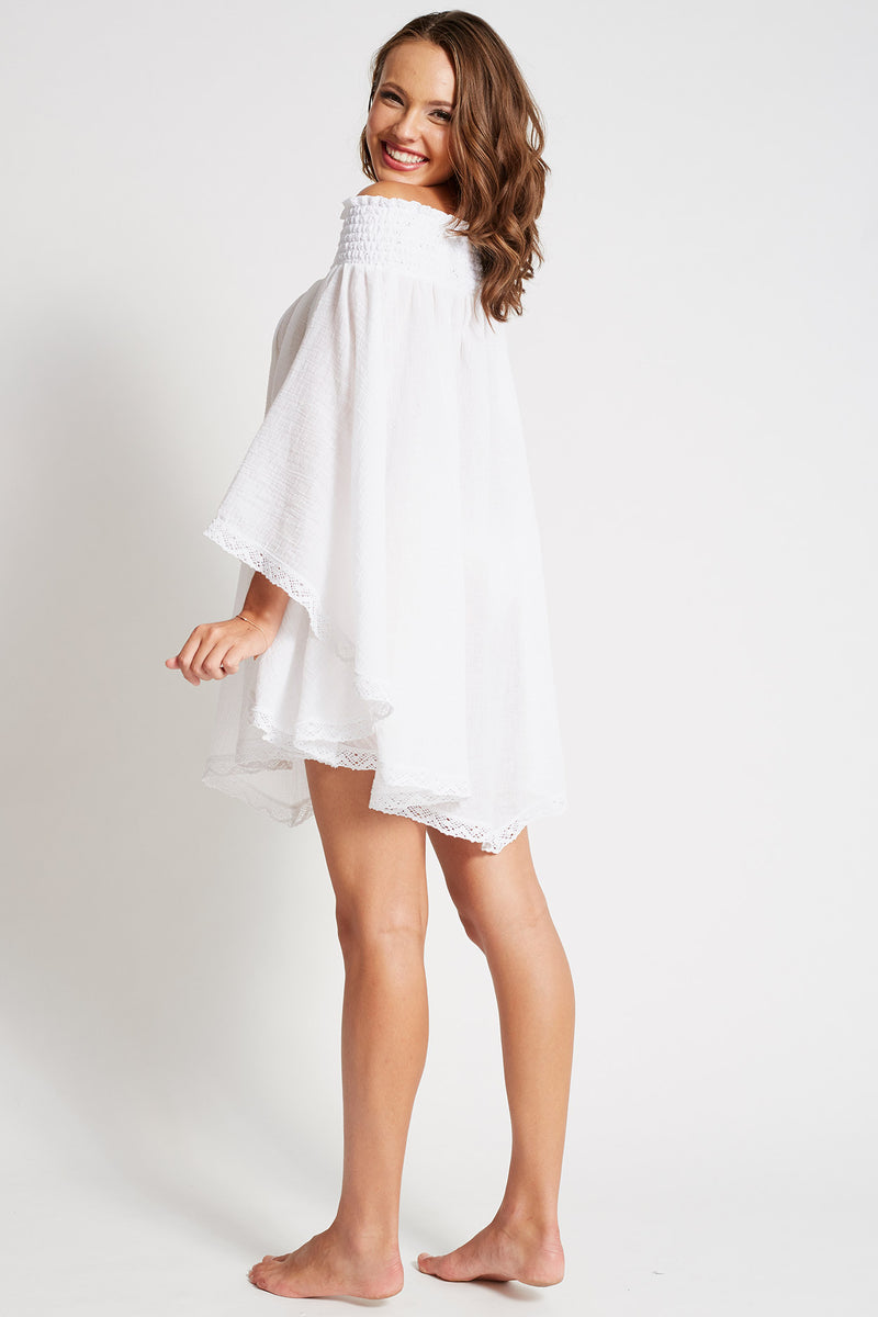 Signature Kaftan white