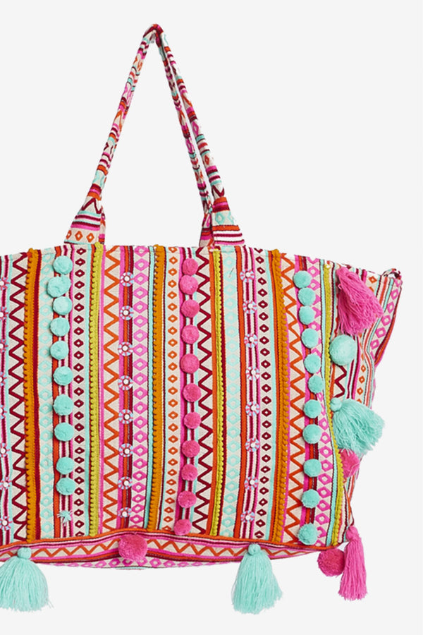 Large Woven Tote Bag Francis