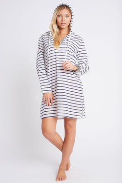 Nikki Hooded Tunic White