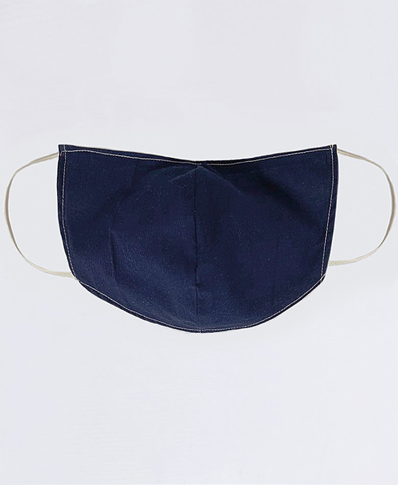 Sandy Face Mask Navy