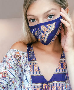 face mask fashion blogger boho summer beautiful women resort travel comfortable soft