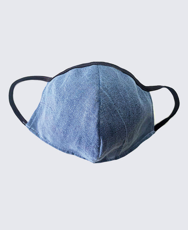Denim Face Mask Soft Earloop
