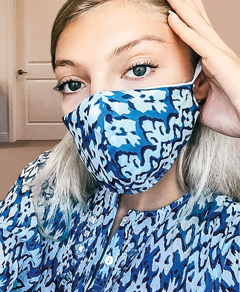 face mask cover up fashion blogger boho summer beautiful women instagram