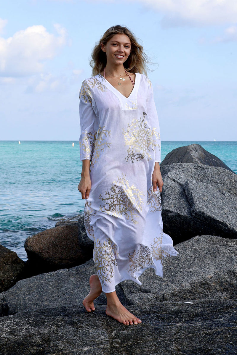 Tally Maxi Tunic White