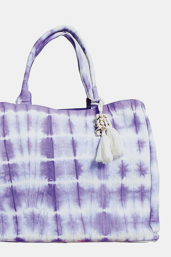 Woodstock Tie-Dye Bag Purple