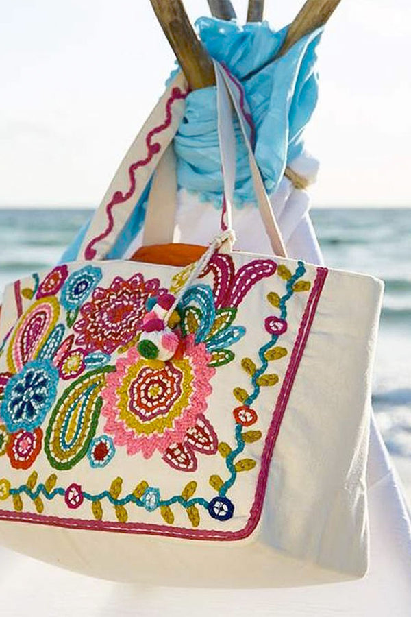 Navali Beach Tote Bag