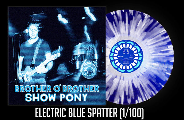 Electric Blue Splatter Variant (1/100)