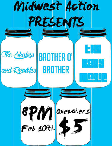 Brother O' Brother Mason Jar Screen Print (1/9)