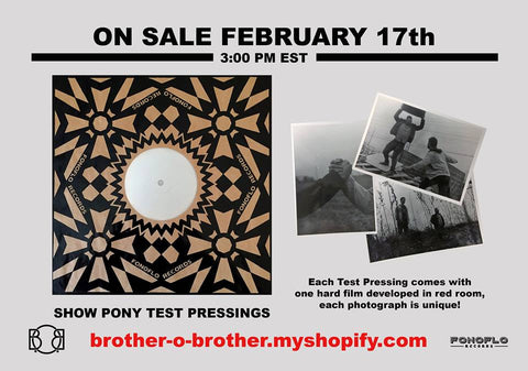 Brother O' Brother Show Pony Test Press (Domestic Only)