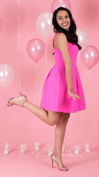 Pink Flamingo Dress