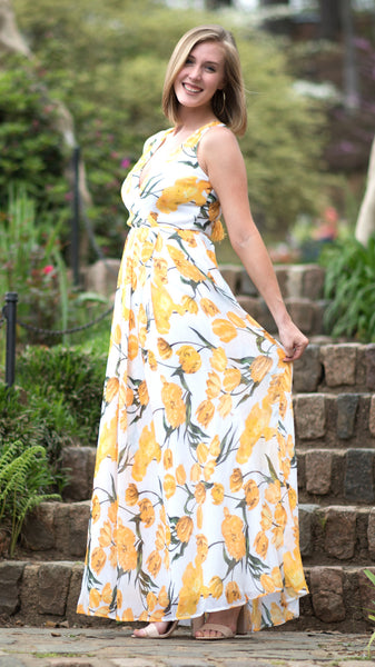 Walkin' on Sunshine Maxi Dress