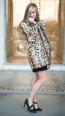 warm and cozy leopard print coat
