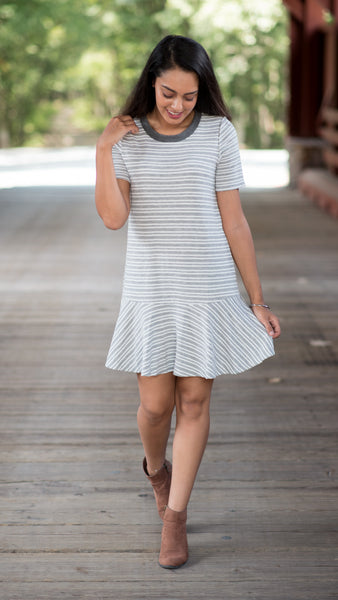 Day Date Striped Dress