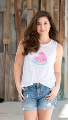 watermelon tank top from I Do Declare online boutique