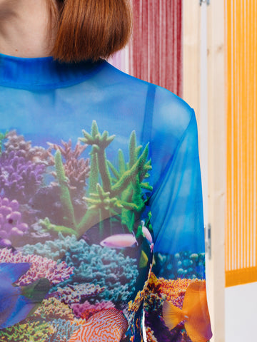 Lazy Oaf Fish Tank Mesh Top