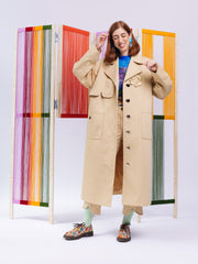 Unflower AW2020 Oversized Trench Coat