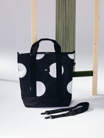 Lazy Oaf Giant Polka Dot Shoulder Tote Bag 100% recycled polyester Sustainable