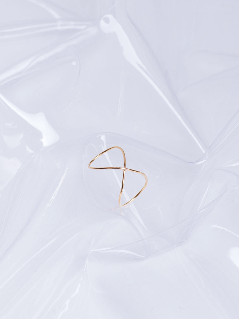 Beatriz Palacios Golden Infinity Ring