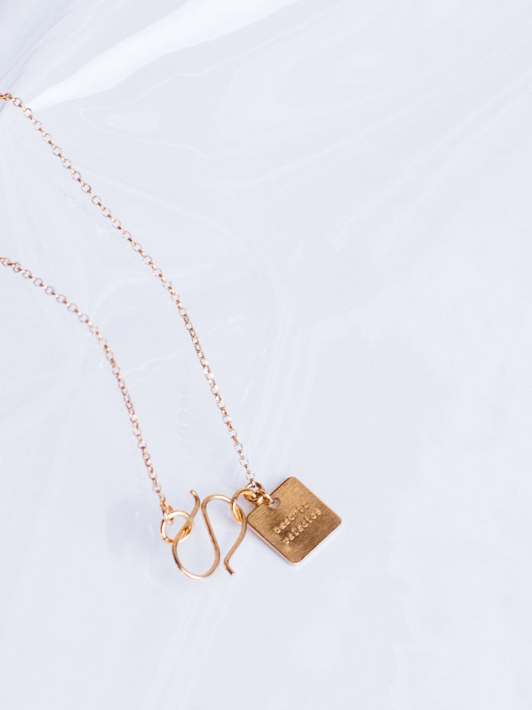 Beatriz Palacios Daisy Charms Gold Plated Necklace